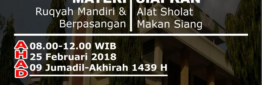 ruqyah pekanbaru 2018