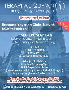 ruqyah pekanbaru maret 2018