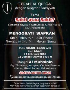 ruqyah pekanbaru februari 2018